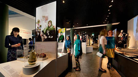 Faith, Fashion, Fusion exhibition on display at the Powerhouse Museum, 2013