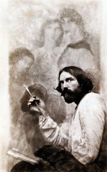 Augustus John, published in      Vanity Fair, 1920