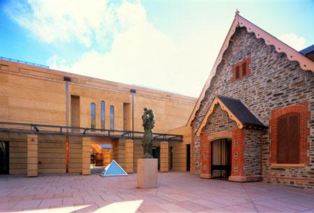 Exterior of SA museum