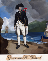 Governor No Beard painting by Daniel Boyd