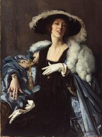 The White Glove painting by Lambert