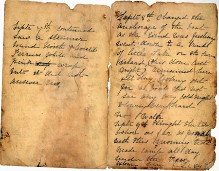 Mary Watson's diary
