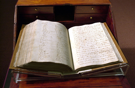 On display: James Cook's Endeavour journal, 1768–71