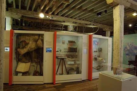 Quest for the South Magnetic Pole, on display at the South Australian Maritime Museum, 2009