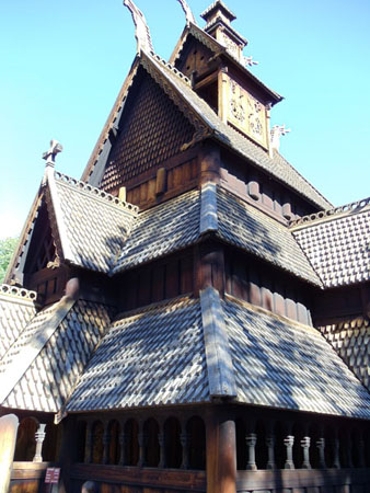 Image of Stave Church, Norskmuseum, Oslo