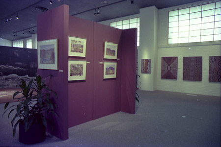 Exhibition space at Canada