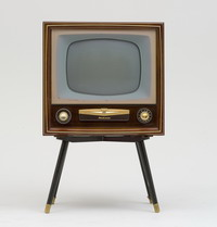 Radiola television from AWA Australia, 1956. Part of the Powerhouse Museum collection
