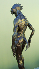 Bronze Gillman figure