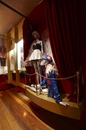 Elizabeth Burton's go-go dancer costumes