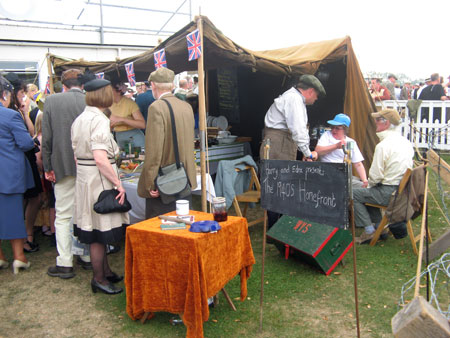 Harry and Edna's evocation of the wartime home front provides participants with opportunities to reminisce, even if they are too young to remember the war