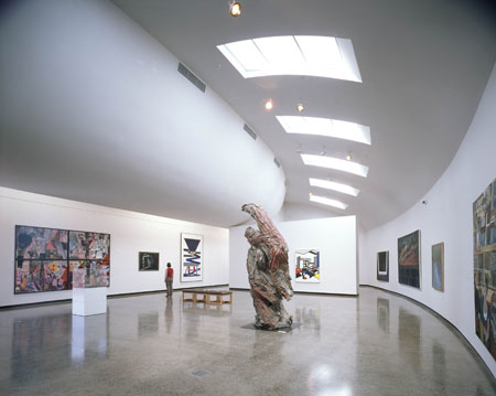 Interior Ballarat fine art gallery