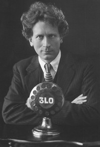 Percy Grainger photo portrait