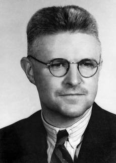 John Treloar portrait photograph 1941