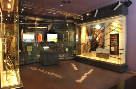 The Contesting Frontiers exhibit at the National Museum of Australia